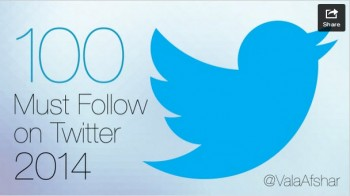 100 Must Follow on Twitter