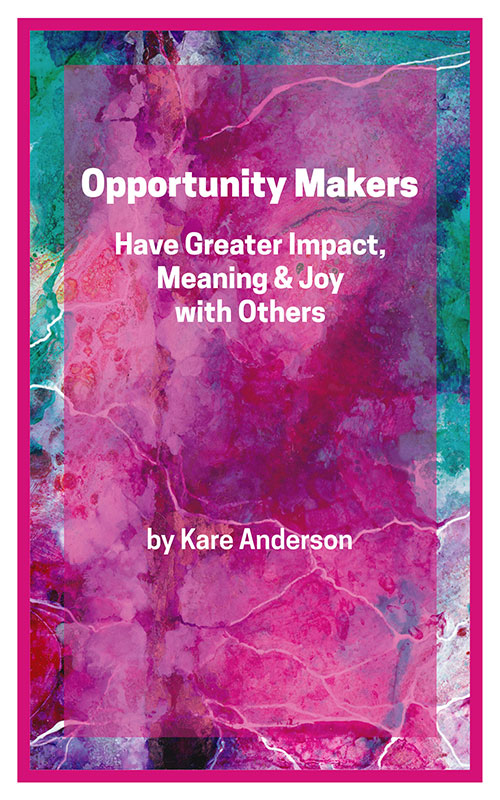 opportunity makers kare anderson book cover