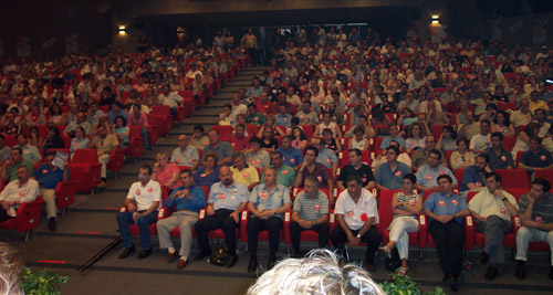 conference session